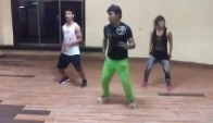 Aloo Chaat Zumba Bollywood Obsession with Instructor Raj