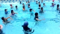 Aqua Zumba in Singapore with Zes Richard Gormley