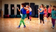 Badonkadonk Eighties Zumba class at University of South Dakota