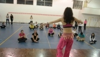 Belly Dance at the Zumba