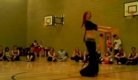Belly dancer Helena Zumba Charity