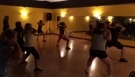 Cardio kickboxing working on abs fitness rx easton md