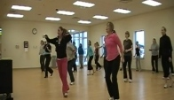 Carly And Janelle Zumba Startin' Somethin' Warm Up
