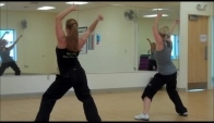 Carly and Janelle Zumba Hip Hop