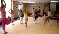 Children's Zumba Fire Burning Sean Kingston