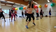 Dance fitness-Zumba-Feeling good-cumbia hiphop - Zumba Hip Hop