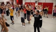 Eme Repetition Flashmob Cybernight Danse MODERN'JAZZ Hip Hop Zumba Annecy
