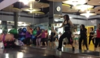 Gangnam style Zumba fitness with Marites