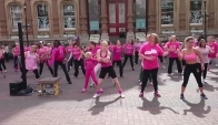 Ipswich Race for Life Zumba flash mob - UpTownFunk