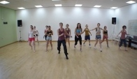 Latin Dance Aerobic Workout - Zumba workout