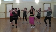 Latin Dance Fitness Class - Zumba workout