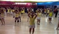 Latin retro zumba belly event