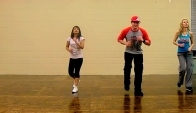 Merengue Latin Dance Fitness Choreography
