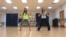 Mexe As Cadeira axe choreography for Dance Fitness by Kelli and Heather