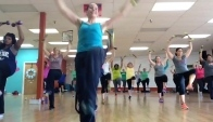 Minute Zumba Toning class with Rachel Pergl