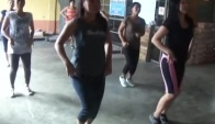 New Zumba steps with prof Allan sweetmomsy version