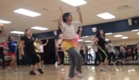 Sheela bollywood zumba minal at Ymca