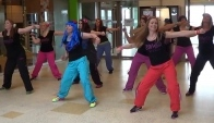 Tanya and the Zumba Divas dance Calypso