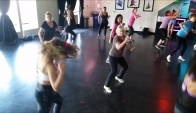Wilson Hip Hop Class to Michael Jackson Workin' Day And Night