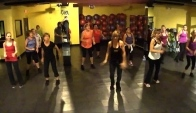 Zumba Dance Fitness to music by Mark Ronson