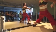 Zumba Dance Workout - Latin Dance Fitness - Master Class With Cb