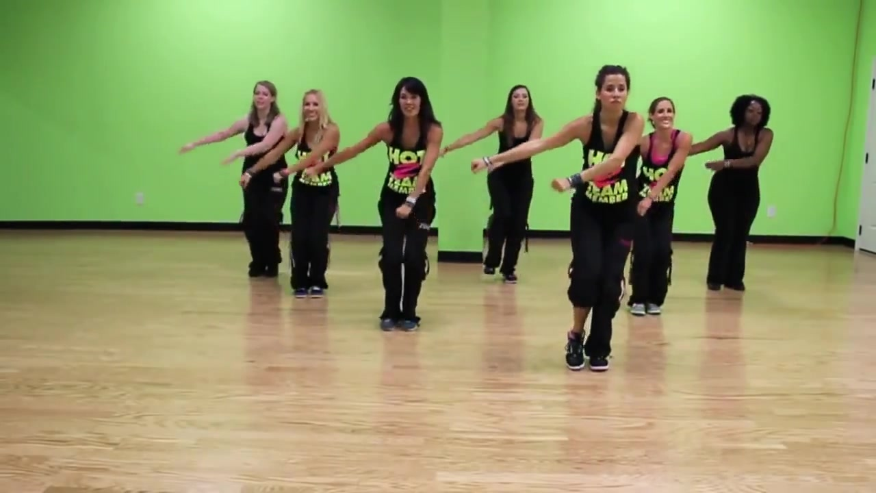 Zumba Dance Workout For Advanced By Hot Z Team on Box Step Dance Diagram