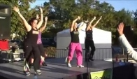 Zumba Demo Foley Al La Luz Del Flow Merengue Hip Hop