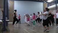 Zumba Flamenco - bambeleo with the Creative Crew