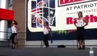 Zumba Kids at Gillette Stadium's Patriot