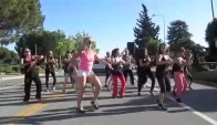 Zumba Salsa Flash Mob