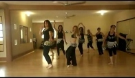 Zumba Saridance Starbailando Belly dance Drum Solo