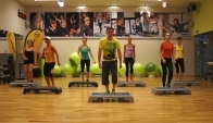 Zumba Step from Zin - Donde Estes Llegare