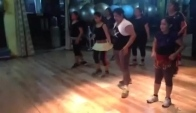 Zumba belly dance fitness