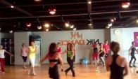 Zumba classes with Marites Pieper- Mi Alma Se- Hip-Hop at Nk Dance Korea