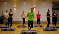 Zumba dance workout Zumba Step Quebradita Juanes La luz