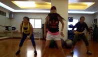 Zumba fitness Hiphop Feat Super JUNIOR'S Bonamana