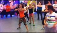 Zumba fitness class with shiran dahan- chucucha