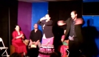 Zumba flamenco performance in Los Lunas