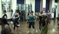 Zumba hip hop with the Creative Crew