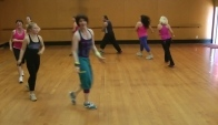 Zumba in a circle 'Banana' Calypso Soca