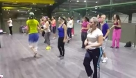 Zumba rush Blame it on the boogie