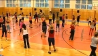 Zumba salsa with Manuel
