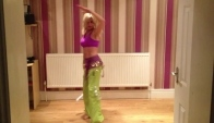 Zumba with Rosella to Ojos Negros 'Belly Dance' Mega Mix