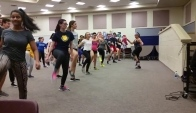 Zumba with WWP-HS North Cast of Shrek the Musical - Uptown funk