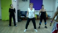 Zumba with talia giat - danca de maozinha - axe